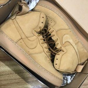 Nike Air Force 1 High Top Wheat
